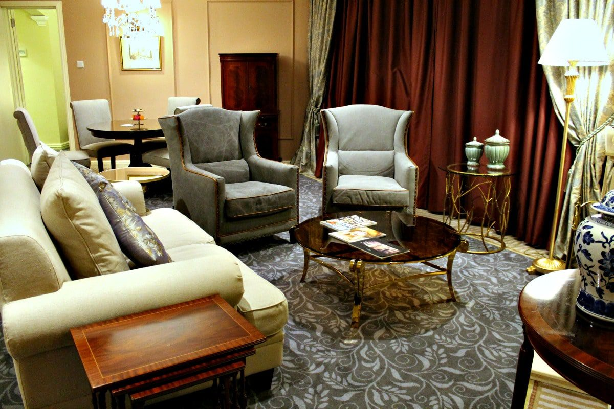 Suites are large and elegantly decorated, but still comfortable for families.