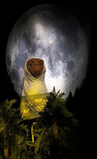 E.T. Wax figure at Madame Tussauds