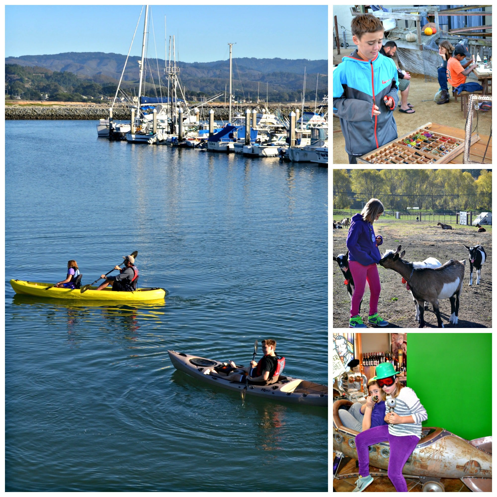 Half Moon Bay is full of adventures for families