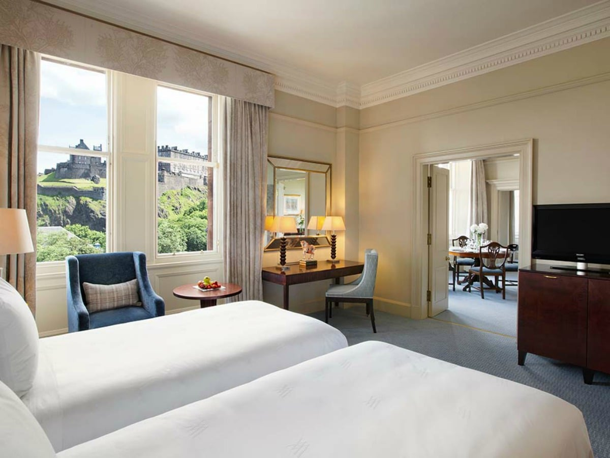 Waking up to views of the Edinburgh Castle isn't just a dream at Waldorf Astoria.