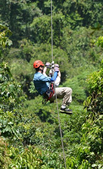 Costa Rica Zip Line Canopy Tour in Arenal