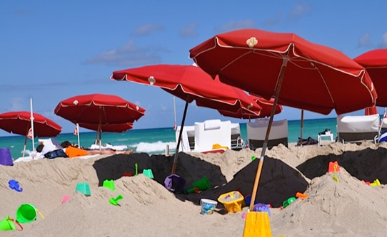 Acqualina Resort Kids Beach Play Area