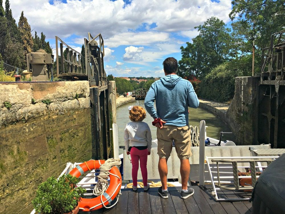 Family Barge Vacation, Canal du Midi