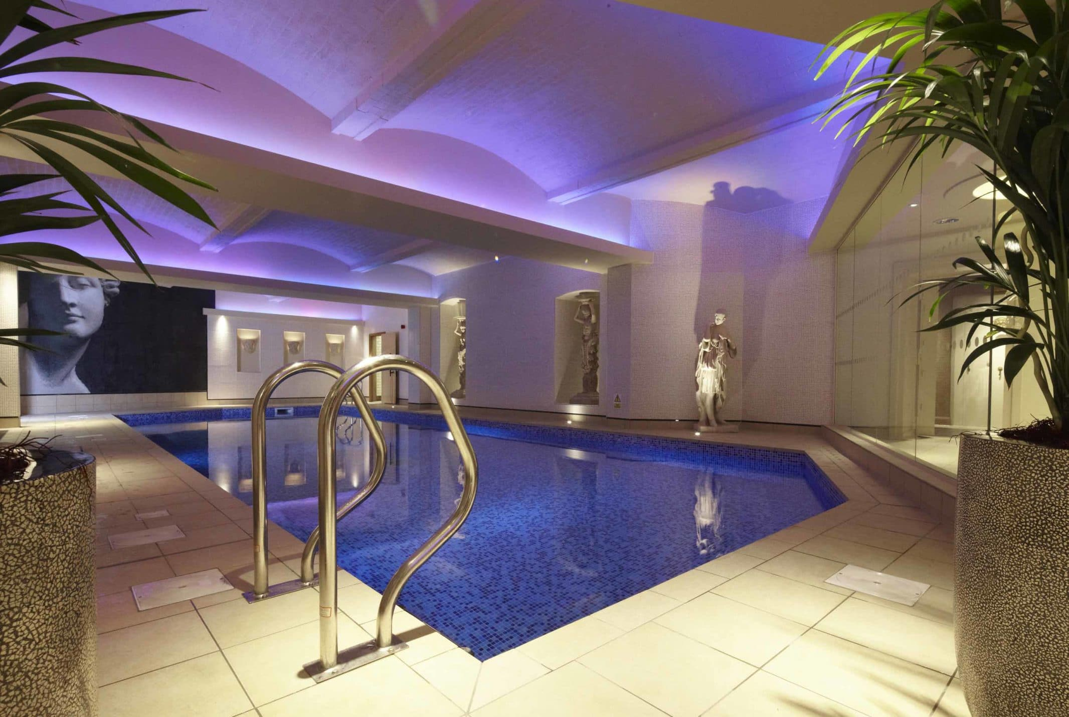 The underground swimming pool at The Grand Hotel and Spa, York