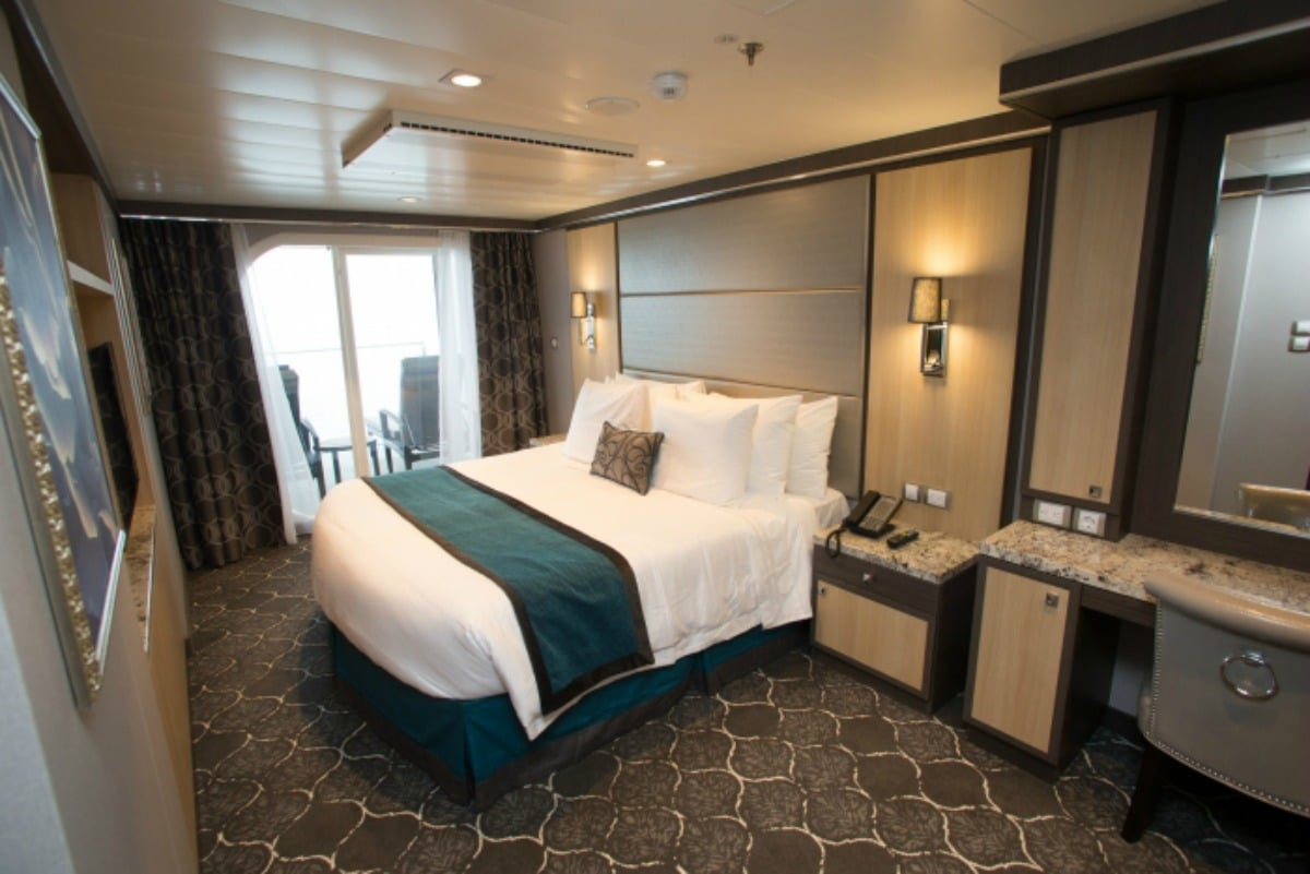 Suites on board come with lots of great perks and amenities.