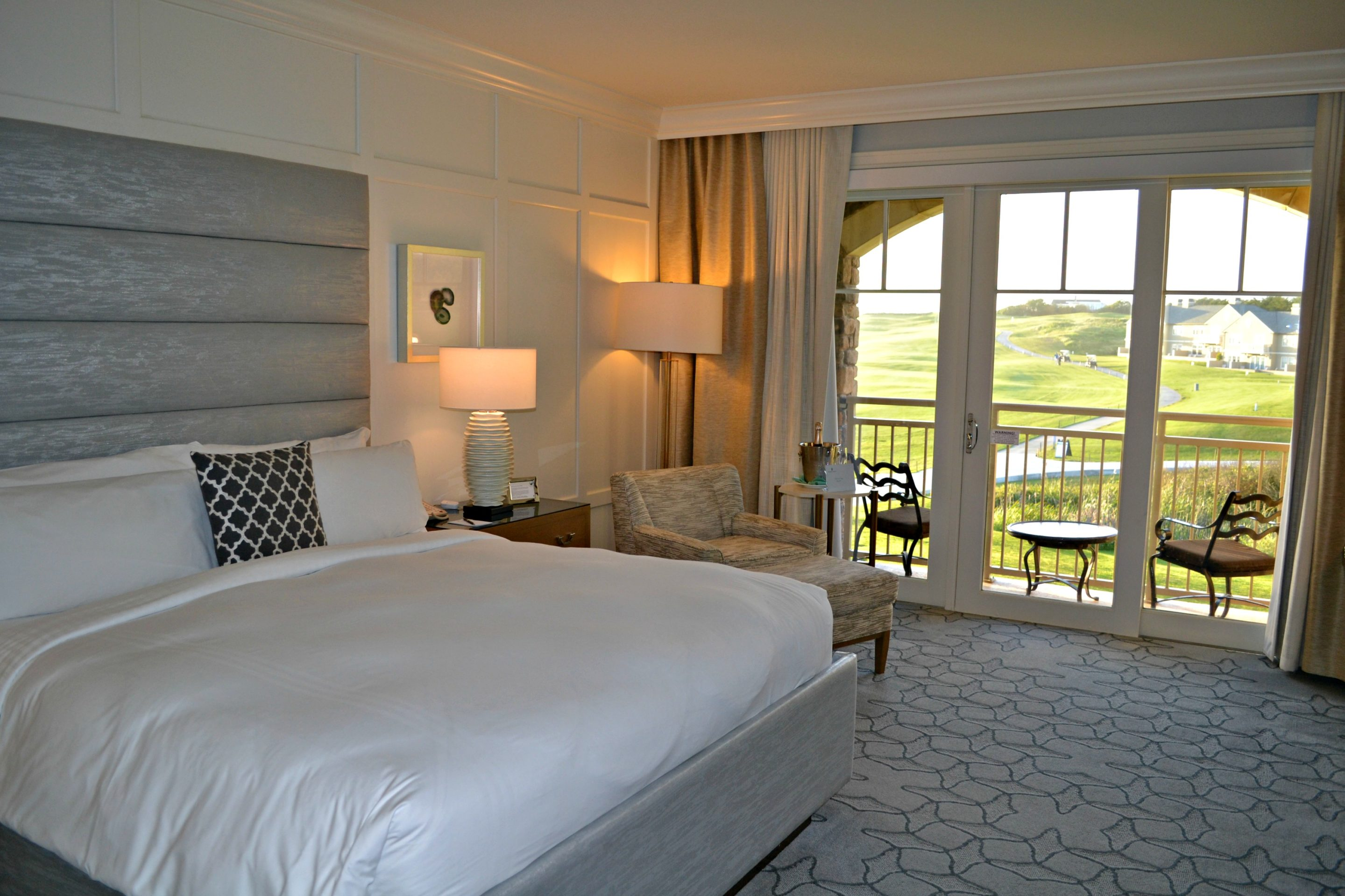 Newly renovated rooms take in the views