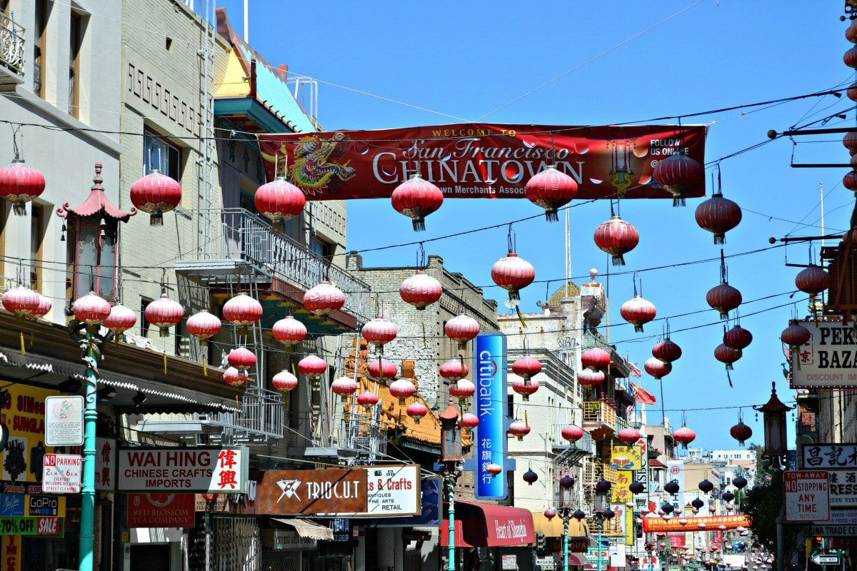 Chinatown is a don't miss attraction with kids who adore the forttune cookie factory!