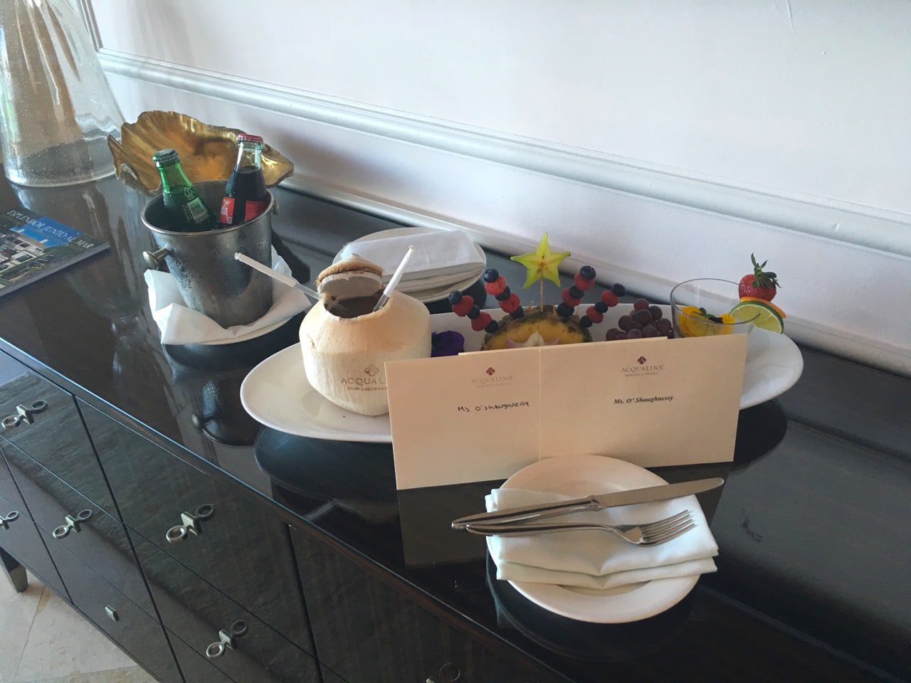acqualina-resort-welcome-gift