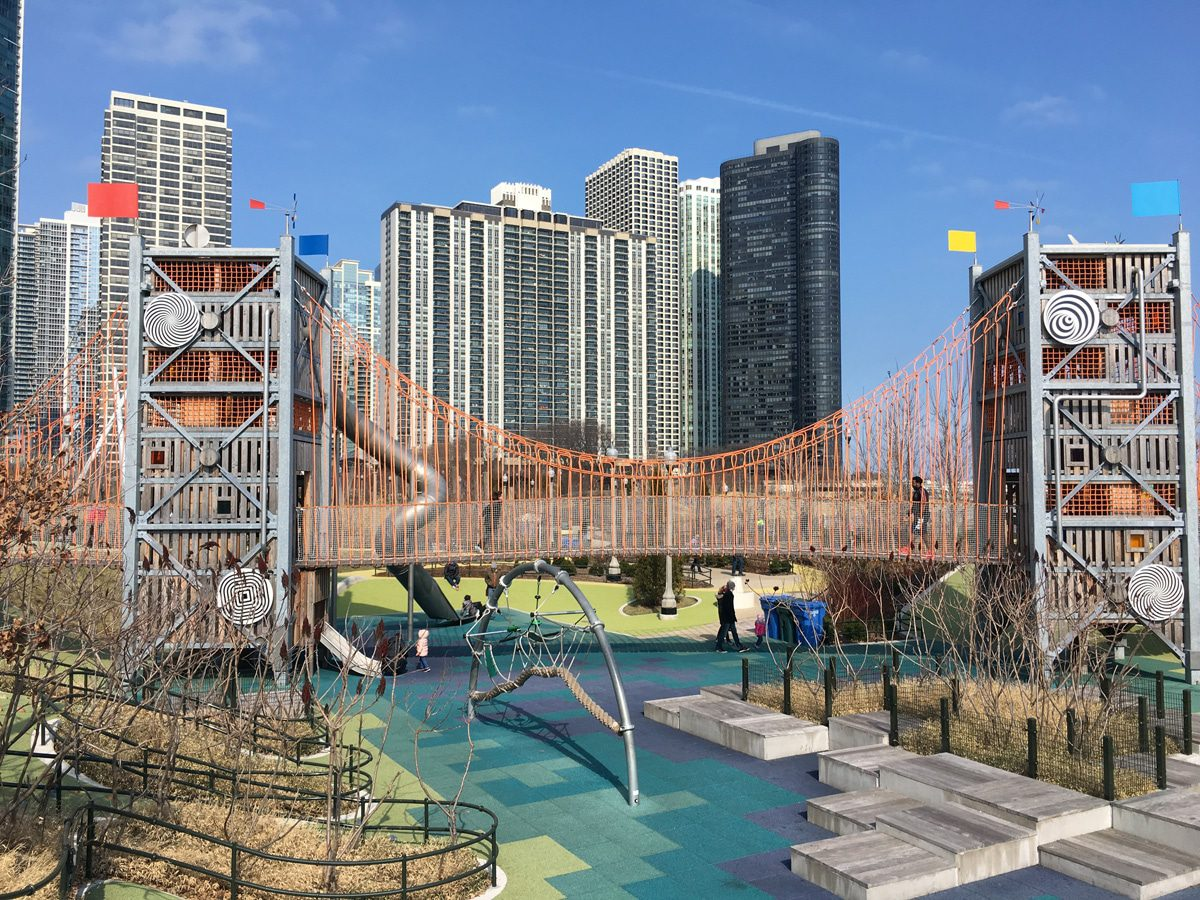 Best Things to Do in Chicago with Kids, Maggie Daly Park